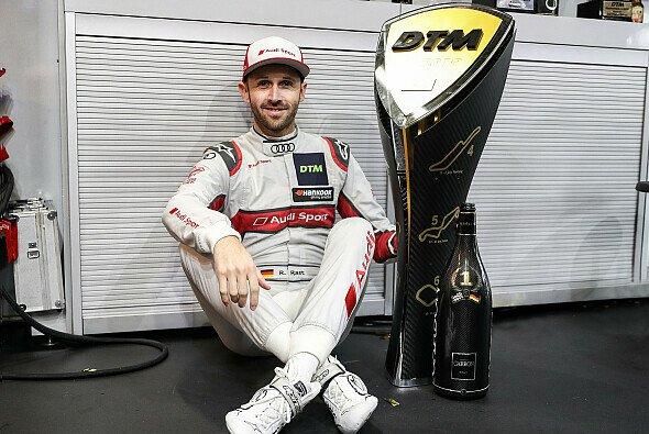 Jetzt kann er es ja erzählen: DTM-Champion Rene Rast und sein Start-Trick - Foto: Audi Communications Motorsport