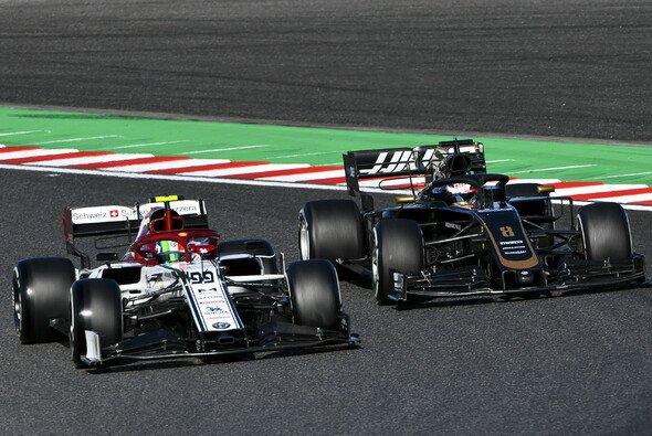 Alfa Romeo kämpfte in Japan nur mit Haas um die letzten Ränge vor Williams - Foto: LAT Images