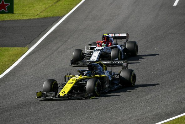 Daniel Ricciardo machte seinem Ruf beim Formel-1-Rennen in Japan alle Ehre - Foto: LAT Images
