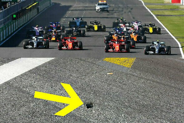 Sebastian Vettel startete beim Japan GP offensichtlich zu früh - warum gab es keine Strafe? - Foto: LAT Images/Motorsport-Magazin.com