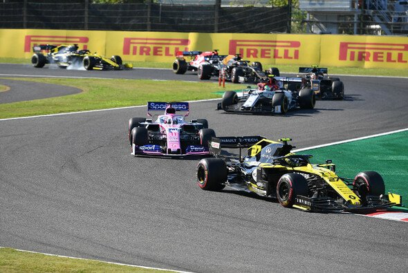 Renault und Racing Point in Japan - Foto: LAT Images