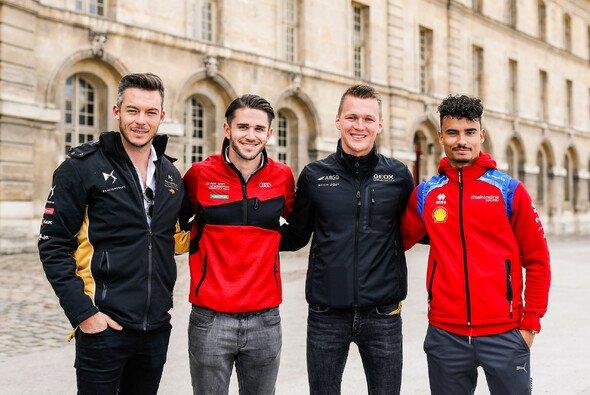 Die vier Deutschen in der Formel E: Andre Lotterer, Daniel Abt, Max Günther, Pascal Wehrlein - Foto: LAT Images