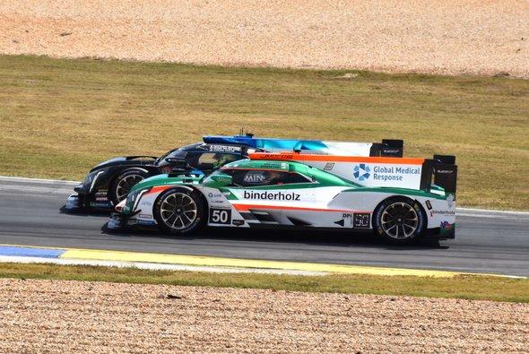 Rene Binder pilotierte zusammen Will Owen und Spencer Pigot den Cadillac DPi-V.R #50 von Juncos Racing - Foto: Photo ENIK