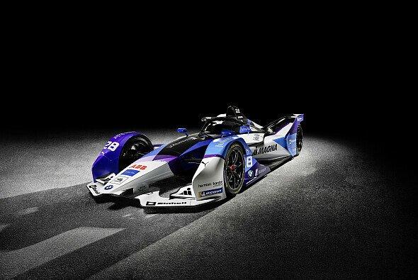 BMW stellt seinen Rennwagen für die 6. Saison der Formel E vor - Foto: BMW Motorsport