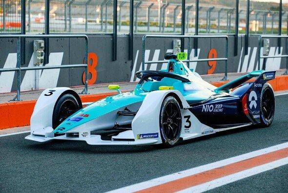 Das ist der Rennwagen des umbenannten NIO 333 FE Team - Foto: NIO