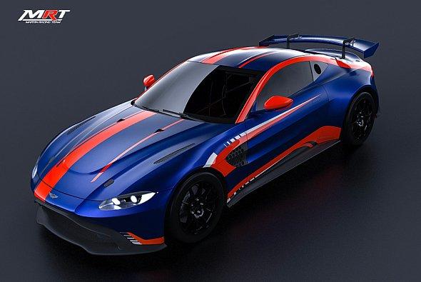 Blick auf den Aston Martin Vantage GT4 von MRT - Foto: Aston Martin