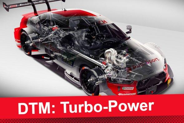 Der neue Turbo-Motor der DTM im Fokus - Foto: Audi AG/Motorsport-Magazin.com