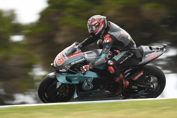Fabio Quartararo kann am MotoGP-FP3 auf Phillip Island wieder teilnehmen - Foto: LAT Images