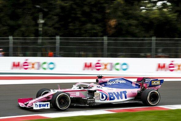 Sergio Perez zeigte 2019 in einem unterlegenen Racing Point einige starke Rennen - Foto: LAT Images