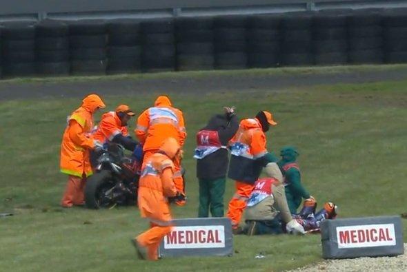 Der Start von Miguel Oliveira ist ungewiss - Foto: Screenshot/MotoGP
