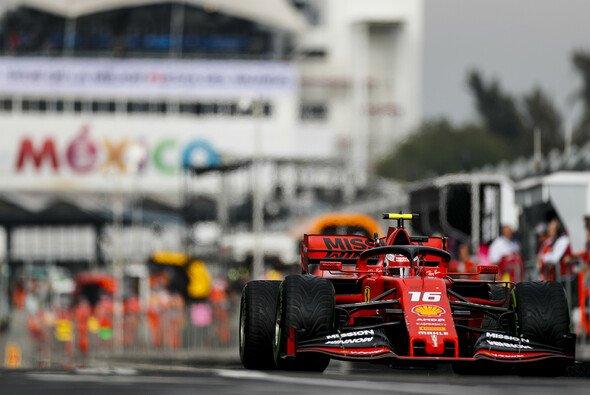 Charles Leclerc gewinnt die feuchte Qualifying-Generalprobe in Mexiko - Foto: LAT Images