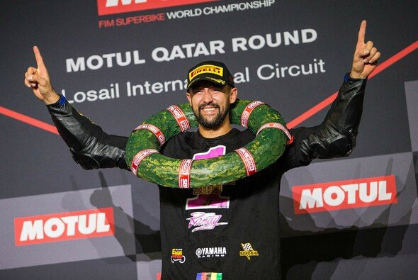 Randy Krummenacher krönt sich zum Weltmeister - Foto: Yamaha