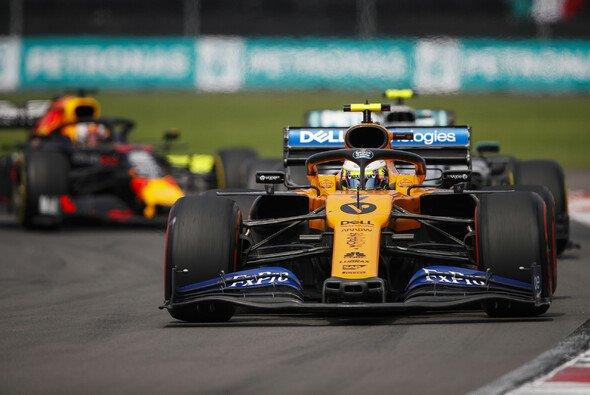 Lando Norris musste das Auto beim Mexiko GP vorzeitig abstellen - Foto: LAT Images