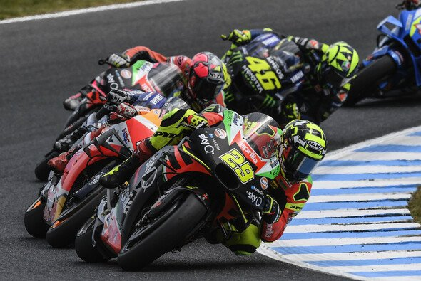 Auf Phillip Island dürfen die MotoGP-Piloten in Zukunft ohne Seiten-Winglets fahren - Foto: LAT Images