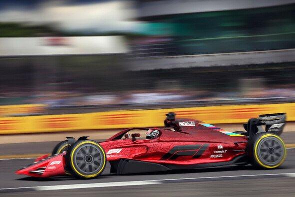 Das Modell eines 2021er-Formel-1-Autos - Foto: Formula One Media