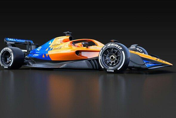 McLarens Konzept-Modell der 2022er-Regeln - Foto: FIA/McLaren