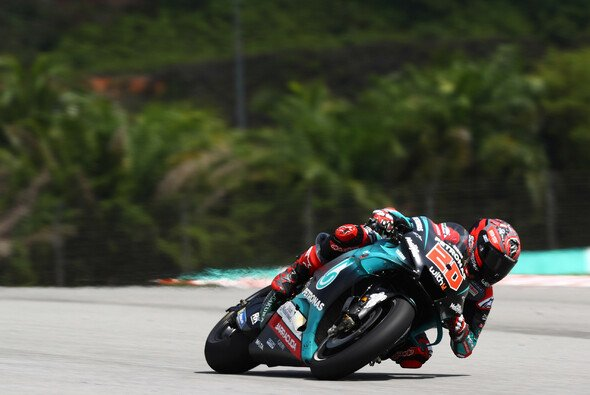 Fabio Quartararo rang Marquez nieder - Foto: LAT Images