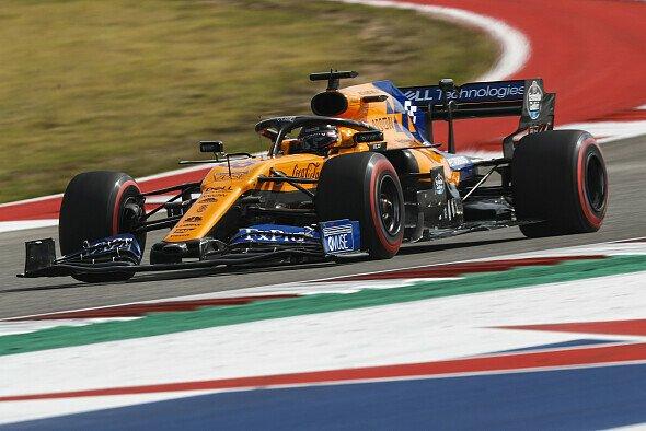 P7 für Carlos Sainz in den USA - der Wind half bei McLaren nach - Foto: LAT Images