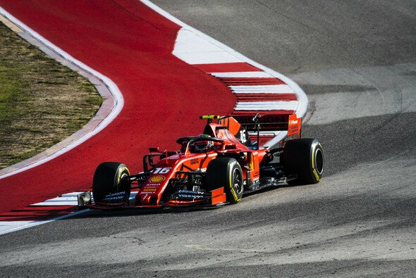 Charles Leclercs Ferrari lag im Rennen von Austin nicht gut - Foto: Ferrari