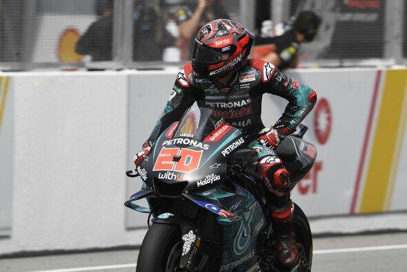 Fabio Quartararo konnte im Sepang-Rennen nicht mithalten - Foto: Petronas Yamaha SRT