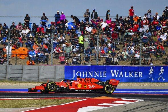 Sebastian Vettel ist in Austin früh ausgefallen - Foto: LAT Images