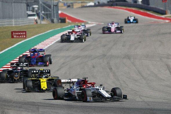 Kimi Räikkönen konnte in Austin endlich wieder kämpfen, von Zufriedenheit dennoch keine Spur - Foto: LAT Images