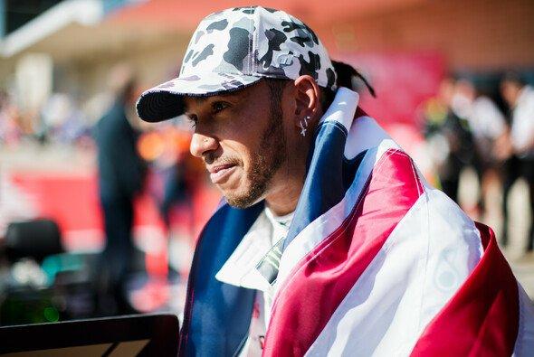 Lewis Hamilton feierte in Austin WM-Titel Nummer sechs - Foto: LAT Images