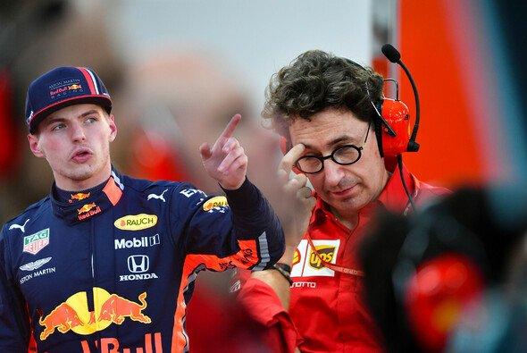 Ferrari Teamchef Mattia Binotto reagiert auf die Anschuldigungen von Max Verstappen - Foto: LAT Images