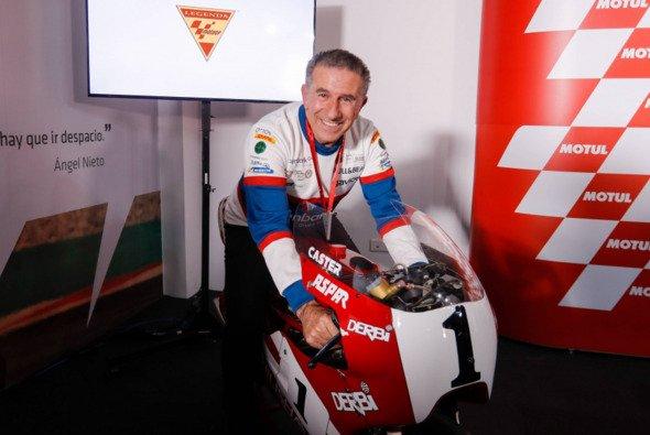 Jorge Martinez 'Aspar' ist jetzt eine MotoGP-Legende - Foto: Angel Nieto Team