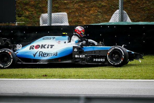 Kubica verunfallte im 2. Freien Training. - Foto: LAT Images