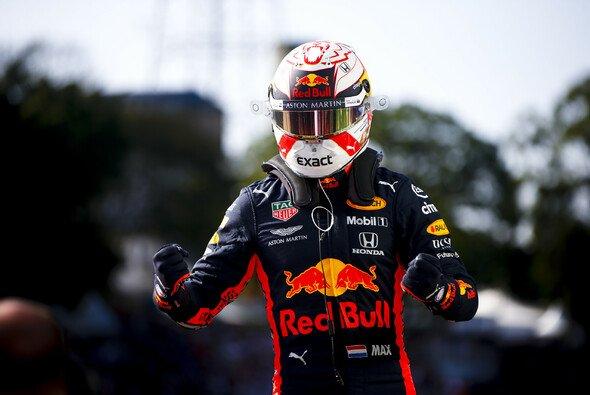 Max Verstappen hat in Brasilien die Pole Position geholt. - Foto: LAT Images