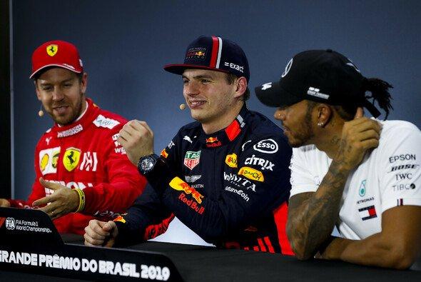 Sebastian Vettel, Max Verstappen und Lewis Hamiton sind die herausragenden Fahrer des vergangenen Jahrzehnts - Foto: LAT Images