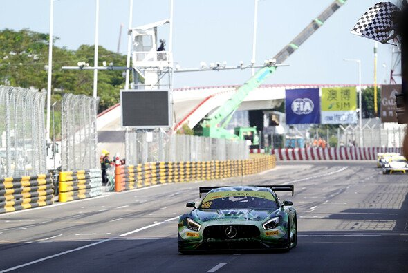 Mercedes-AMG-Ass Raffaele Marciello holt ersten Macau-Sieg - Foto: LAT Images