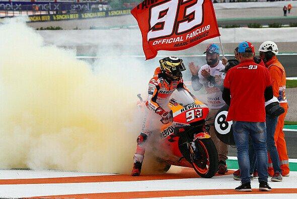 Marc Marquez gewann den Abgesang der MotoGP 2019 - Foto: LAT Images