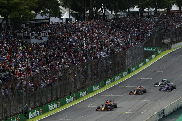 Formel 1 in Interlagos - angezählt - Foto: Red Bull