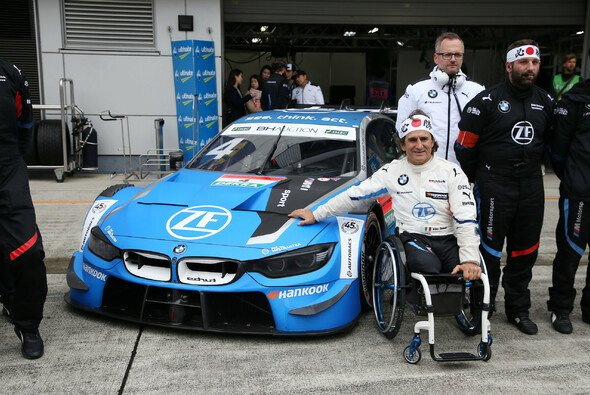 Zanardi Ende 2019 beim DTM/Super GT-Event in Fuji, Japan - Foto: BMW Motorsport