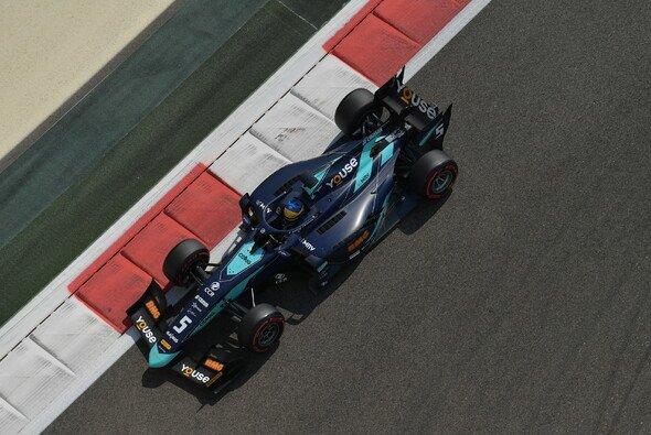 Sette Camara hat die Pole Position für das Hauptrennen in Abu Dhabi geholt. - Foto: LAT Images