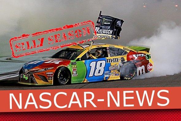 Donuts gehören zur NASCAR wie Lucky Dogs und die Victory Lane - Foto: LAT Images