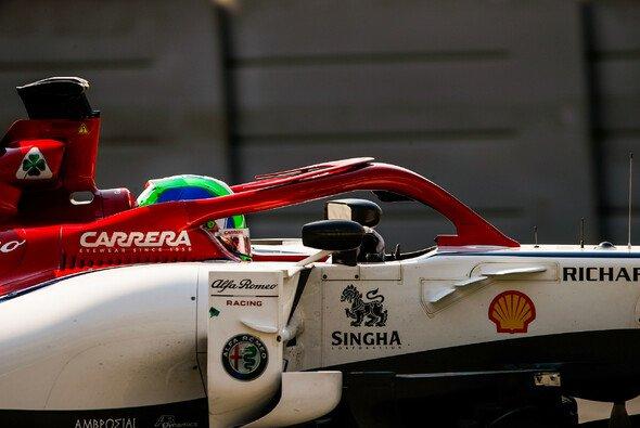 Sauber no superó el Crash Test, chasis completamente destruído.