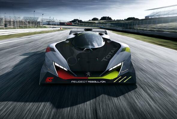 Peugeot zeigt eine erste Studie seines neuen WEC-Hypercar - Foto: Peugeot