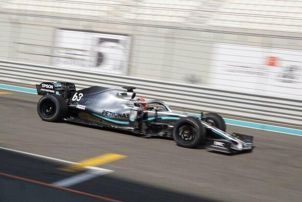 Pirelli startete bereits Ende 2019 mit ersten Testfahrten der 18-Zöller - dann kam Corona - Foto: Twitter/ Mercedes-AMG Petronas Motorsport