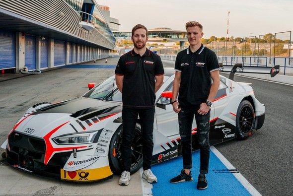 Neues WRT-Duo: Fabio Scherer aus der Schweiz und der Brite Ed Jones - Foto: WRT