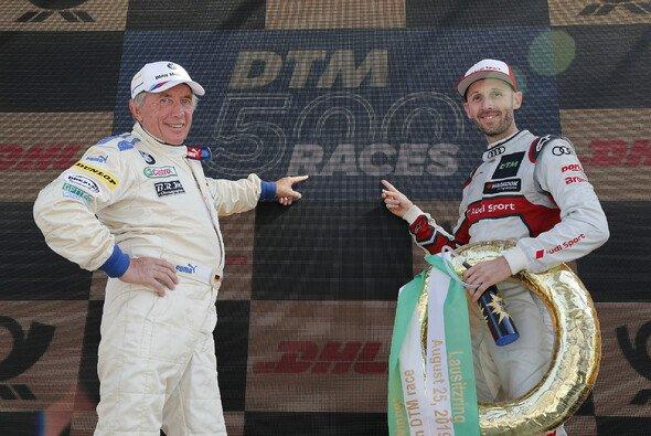 Harald Grohs und Rene Rast feierten mit der DTM das 500. Rennen der Serie - Foto: DTM