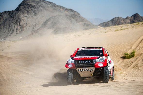 Toyota geht als einer der Favoriten in die diesjährige Dakar - Foto: Toyota