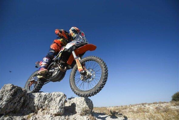 Etappen-Sieger an Tag zwei: KTM-Pilot Ross Branch - Foto: ASO/Dakar
