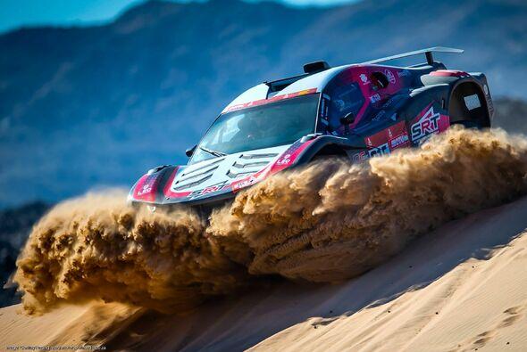 Mathieu Serradori gewinnt zum 1. Mal eine Dakar-Etappe - Foto: ASO/Dakar