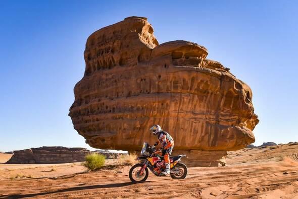 Toby Price siegte an Tag fünf zum zweiten Mal - Foto: ASO/Dakar