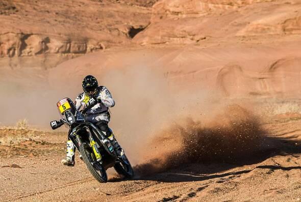 Pablo Quintanilla besiegte Matthias Walkner auf der elften Dakar-Etappe - Foto: ASO/Dakar