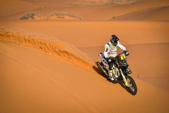 Pablo Quintanilla konnte die neunte Bike-Etappe der Rallye Dakar für sich entscheiden - Foto: ASO/Dakar