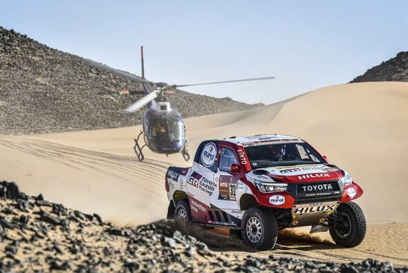 Fernando Alonso beendete die Rallye Dakar 2020 als bester Rookie - Foto: ASO/Dakar